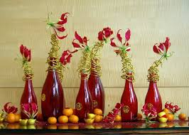 New Year S Fruit Decoration by Wishing Tree Blog Diy Chinese New Year Table Decor Chinese New