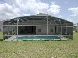 how much does it cost to build a pool screen enclosure american