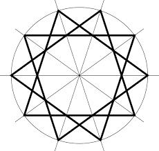 pattern 5 of islamic geometric design