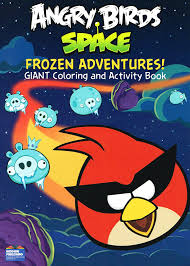 amazon angry birds space giant coloring activity books
