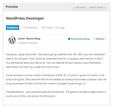 wp job manager u2014 wordpress plugins