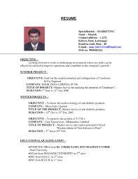 Resume Objective For Restaurant Job Resume Objective Resume Peppapp