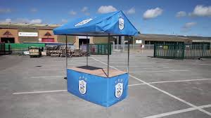 Market Stall Canopy by Branded Market Stall Promotional Stand For Huddersfield Town