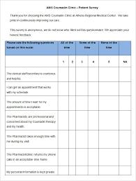 satisfaction survey template sample customer survey sample