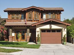 Bungalow Homes by Craftsman Warm Latte Stucco Olive Trim Mid Coffe Wood And