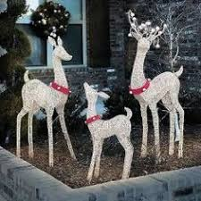outdoor reindeer decorations lighted unihack co