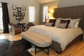 modern bedroom ideas with wallpaper and working area home