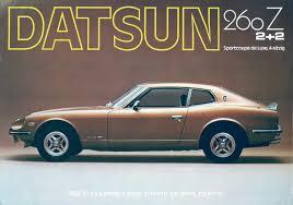 1974 nissan 260z nissan datsun 260z cars history ruelspot com