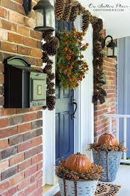 easy diy fall porch decor ideas on sutton place