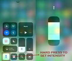 turn light on iphone how to use flashlight on iphone ios 11 techbytex