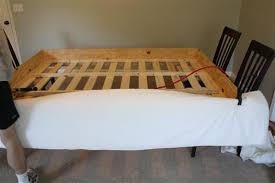 upholster bed frame upholstered and headboard diy a with storage