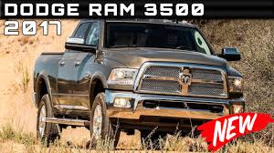 Dodge Ram Cummins Specifications - 2017 dodge ram 3500 review rendered price specs release date youtube