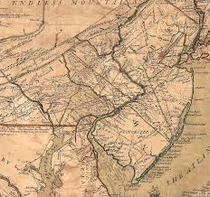 Map Of New Jersey And Pennsylvania by Pitard Net 1749 Lewis Evans Pa Map Pitard Net Genealogy