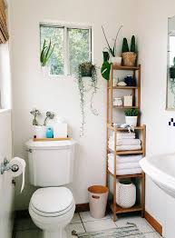 adding plants to any room especially a bathroom will really liven