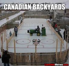 Canada Hockey Meme - hockey laughs the pink puck