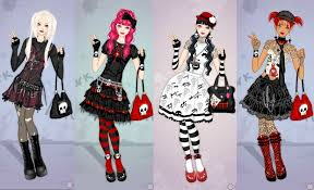emo dress up games punk lolita dress up game by pichichama on deviantart