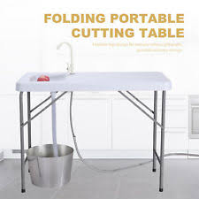 cing kitchen with sink portable fish cleaning table with faucet the best fish 2018