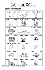 4 best images of free printable cvc worksheets for kindergarten