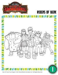 riders of berk httyd coloring pages for kids of dragons