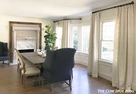 Dining Room Curtains Dining Room The Cow Spot Dining Room Curtains