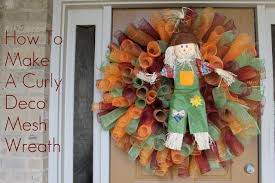 how to make a mesh wreath how to make a curly deco mesh wreath miss kopy