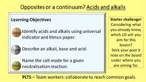acid and alkali lesson and worksheet by rachelannegarland82