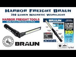 harbor freight light bar harbor freight braun work light an upgrade over corded work lights