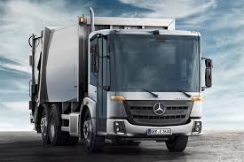mercedes commercial trucks mercedes econic for garbage collecting mercedes trucks