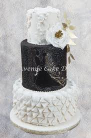 design a cake how to design a black and white wedding cake 5thavenuecakedesigns