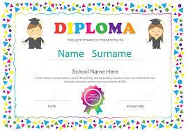 diplomas de primaria descargar diplomas de primaria preescolar niños diploma certificado primaria diseño temp archivo