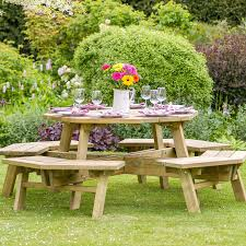Octagon Patio Table by Zest4leisure Alex Octagon Picnic Table Robert Dyas