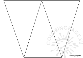 banner coloring pages free birthday banner template coloring page