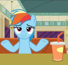 Rainbow Dash Meme - 1160734 animated caption cider cup dos equis drink meme