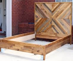 How To Build A Wooden Platform Bed by Picturesque Reclaimed Wood Platform Bed Spaces And Alder Door Aqua