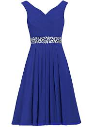 women u0027s v neck sleeveless rhinestone cocktail bridesmaid a line