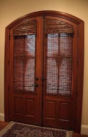 Exterior Door Blinds Custom Made Blinds For Arched Doors Window Treatments It S All