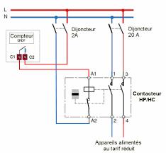 Question Forum électricité Conseils Branchement Appareils Comment Fonctionne Un Contacteur Hp Hc