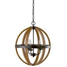 Sphere Ceiling Light by Wooden Chandelier Wood Sphere Editonline Us