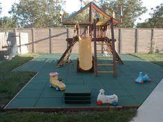 Kids Backyard Store Rubber Playground Mats Outdoor Playground Mats Bounce Back