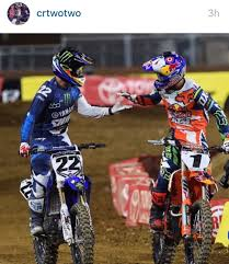 motocross gear san diego 22 chad reed congratulates 1 ryan dungey on his win at san diego i