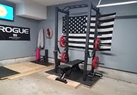 rogue equipped garage gyms photo gallery submit your gym