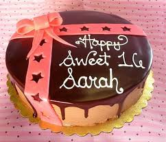 birthday cake sweet 16 sweet sixteen cakes by chocolate ba u2026 flickr