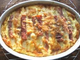 cuisiner du jambon blanc gratin d asperges au jambon et au comté cuisine cagne