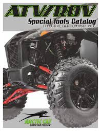 atv rov special tools catalog arctic cat by arctic cat gmbh issuu