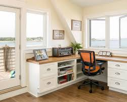 Built In Desk Ideas Top Built In Office Furniture Ideas Houzz Home Office Built In