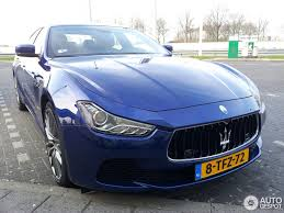 ghibli maserati blue maserati ghibli s q4 2013 30 march 2014 autogespot