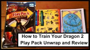 how to train your dragon 2 play pack grab u0026 go unwrap and review