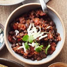chili cuisine easy vegetarian chili recipe eatingwell