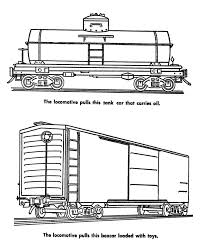 coloring page train car freight train and railroad coloring pages tank car and boxcar coloring