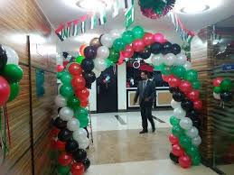 balloon decoration services for national day any occasions